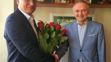 """Photo of Prezydent podziękował byłemu rektorowi. """"Uczelnia bardzo się zmieniła"""""""