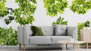 Photo of Fototapeta z liśćmi – dekoracja, która wprowadzi naturę do wystroju