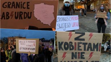 """Photo of """"Miarka się przebrała!"""". Protest studentek (i nie tylko) na ulicach miasta"""