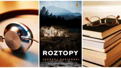 """Photo of Jędrzej Pasierski """"Roztopy"""" [Książka na receptę]"""
