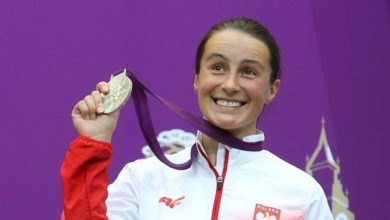 Photo of Sylwia Bogacka wygrywa u siebie i spogląda w stronie Brazylii